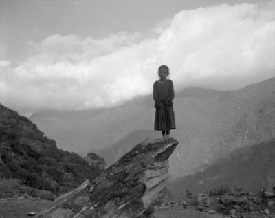 Regina DeLuise, 'Girl on Rock', 1994