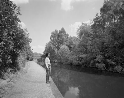 Edgar Martins, ''N.' by Winson Green Prison canal, from the series What photography has in Common with an Empty Vase', 2019