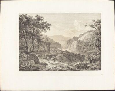 Albert Christoph Dies, 'Cascatella di Tivoli, seconda veduta', 1792