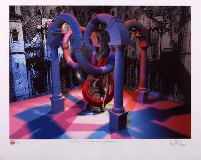 """Luis Miguel Valdes, '""""Un Dólmen en la ciudad de las columnas""""', 2003"""