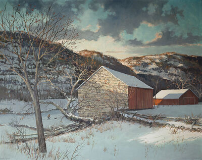 Eric Sloane, 'First Snow'