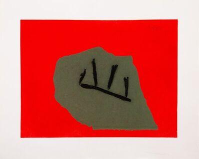 Robert Motherwell, 'Australian Stone', 1984