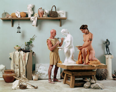 "Eleanor Antin, 'The Artist's Studio from ""The Last Days of Pompeii"" prototype', 2002"