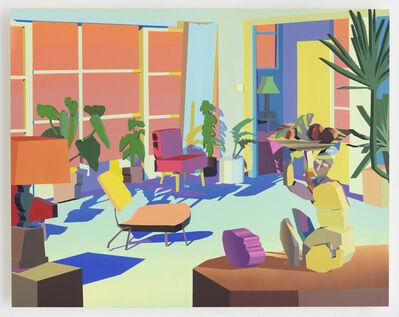 Jonathan Chapline, 'Constructed Interior (Living Room)', 2018