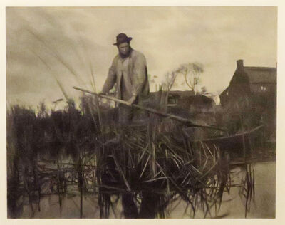 Peter Henry Emerson, 'Cutting the Gladdon', 1863