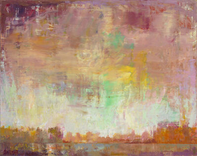 """Ira Barkoff, '""""Autumn Fest"""" -- Romantic, American Monet, Landscape, Abstract, Outdoor', 2020"""