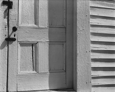 Edward Weston, 'Church Door, Hornitos.', 1960s