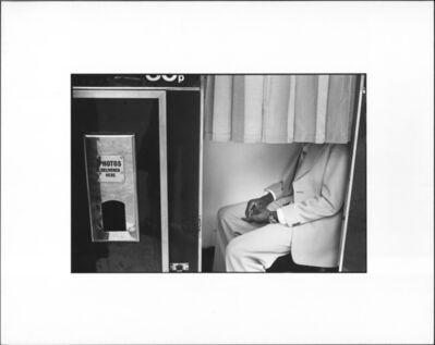 Erich Hartmann, 'Photomaton,', 1976