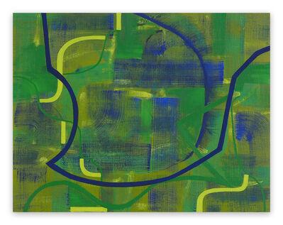 Jessica Snow, 'Terra Incognita (Le Pavé de France 5) (Abstract painting)', 2019