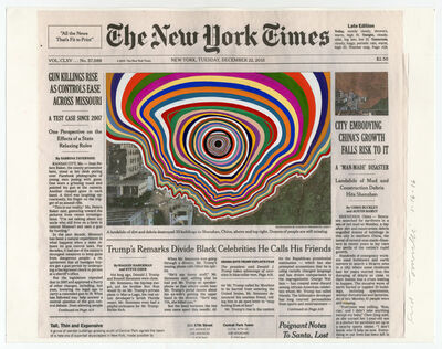 Fred Tomaselli, 'Dec. 22, 2015', 2016