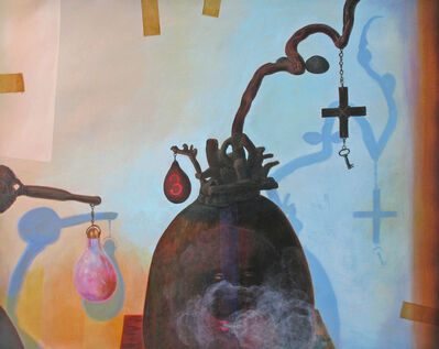 Renée Stout, 'Elegba and the Pearl Gourd', 2015