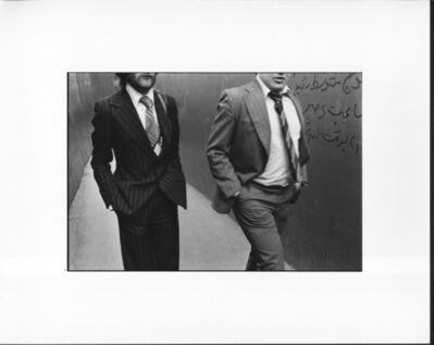 Erich Hartmann, ' Two men in London', 1976