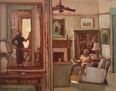 Kathryn Keller, 'Bleak House 4-15-18 Oil on canvas, 16 x 20″', 2018