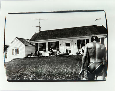 Andy Warhol, 'Photograph of Jon Gould in Montauk', 1981