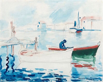 Francis Picabia, 'Le port de Saint Raphael', ca. 1905