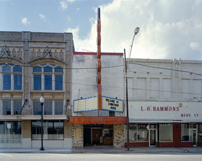 Alec Soth, 'Grand Twin Cinema, Paris, Texas', 2006