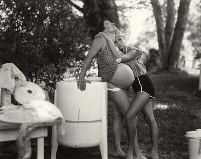 "Sally Mann, 'Untitled from the ""At Twelve"" Series, Jenny and Leslie, 8 Months Pregnant', 1983-1985"