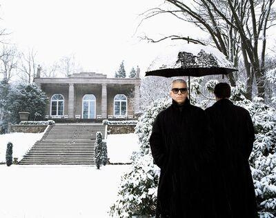 Jean-Marie Périer, 'Karl Lagerfeld, Hamburg, May 1995', 1997