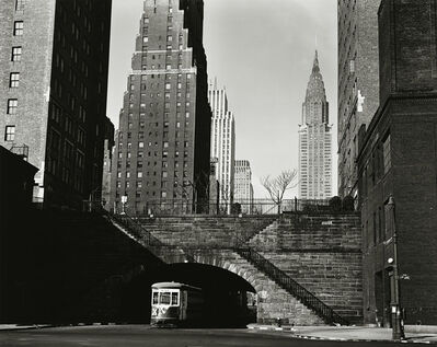 Brett Weston, 'New York Trolley', 1945