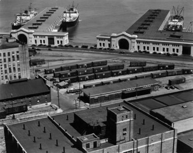 Edward Weston, 'Embarcadero, San Francisco', 1937