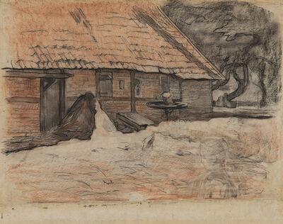 Piet Mondrian, 'Vue d'une ferme à Winterswijk', ca. 1898