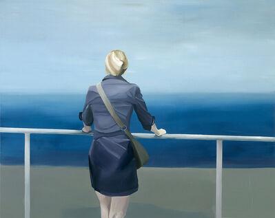 Izvor Pende, 'Danče (Frau in Rückenansicht am Meer)', 2007