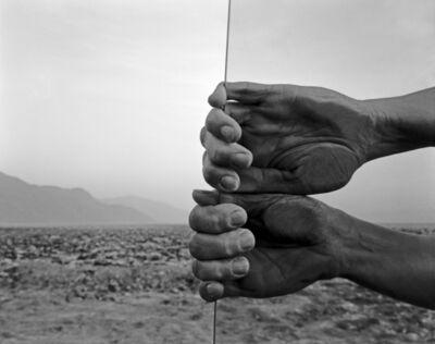 Judy Dater, 'My Hands, Death Valley', 1980