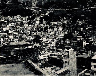 Paul Rowland, 'Large Scale Vintage Silver Gelatin Print Brazil Favela Cityscape Rio de Janeiro', 20th Century
