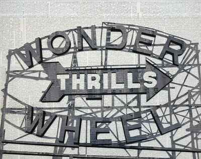 William Steiger, 'Wonderwheel Thrills', 2020