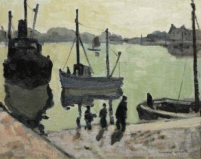 Bernard Lamotte, 'Fisherman's Landing', 20th Century