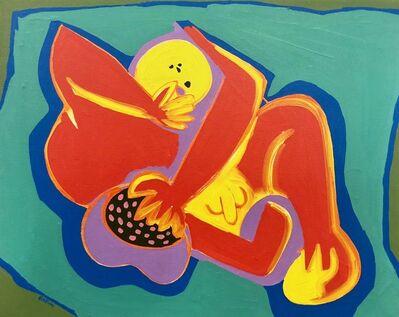 Walter Battiss, 'Reclining figure with fruit'