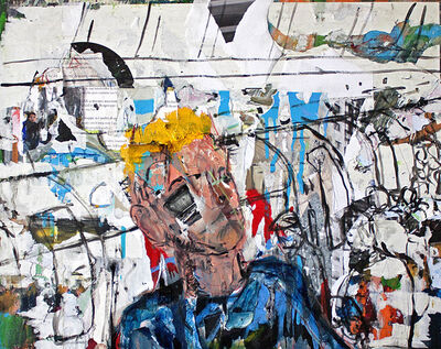 Andrea Sbra Perego, 'Deconstruction #7 Self Portrait', 2019