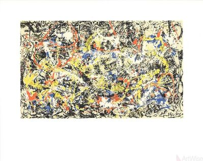 Jackson Pollock, 'Convergence', 1991