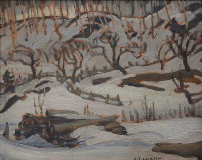 Alexander Young Jackson, 'Petite Riviere', 1927