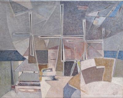 Geer van Velde, 'Composition', ca. 1960