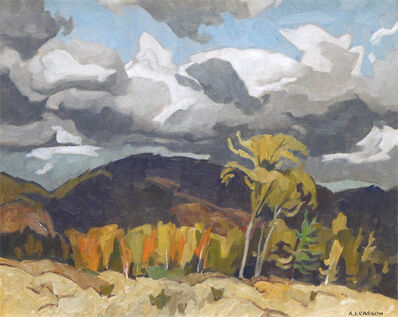 Alfred Joseph Casson, 'OCTOBER STORM CLOUDS, GRENVILLE, QUEBEC', 1969