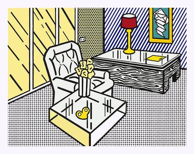 Roy Lichtenstein, 'The Den ', 1990
