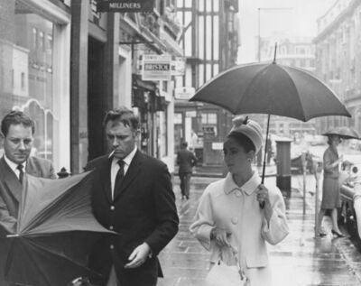 Getty Images Archives, 'Taylor and Burton', 1963