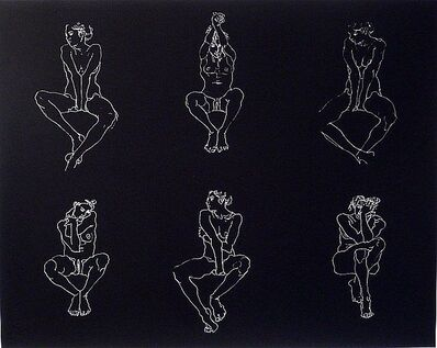 Robert Graham, 'Untitled, Six Nudes', 2004