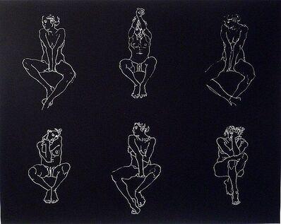 Robert Graham, 'Untitled, Six Nudes', 2004