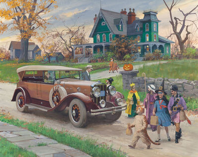 Harry Anderson, 'Halloween, 1929 Franklin Sports Car'