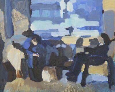 Viviane Silvera, 'Lean in (blue & yellow interior)', 2014