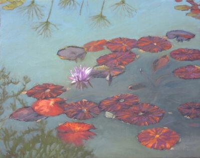 Ella Yang, 'Autumn Waterlilies', 2017