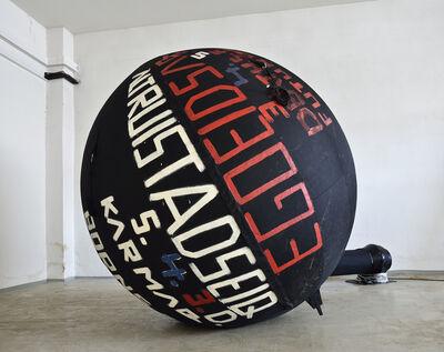 Stano Filko, 'ALTRUISTADSEIQ 5. 4.3.D. (EGO Balloon)'
