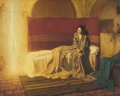 Henry Ossawa Tanner, 'The Annunciation', 1898