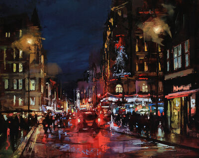 Lindsey Kustusch, 'Leicester Square, London', 2020