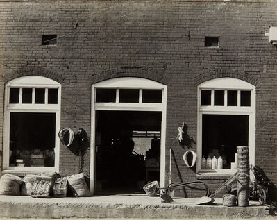 Walker Evans, 'General Store, Mississippi', 1936