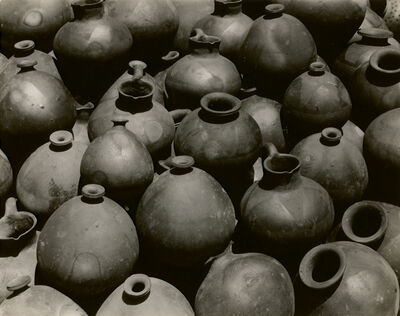 Edward Weston, ' Heaped Black Ollas, Oaxaca', 1926