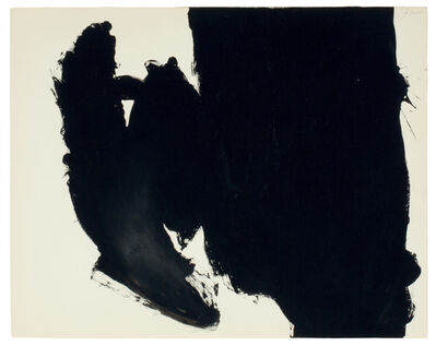 Robert Motherwell, 'Untitled (Elegy)', 1960