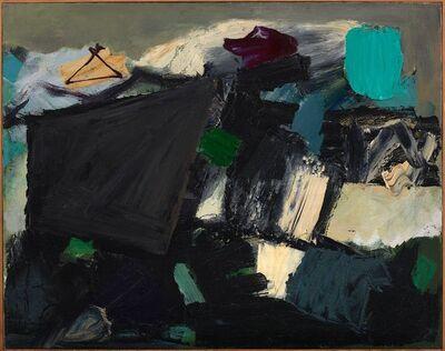 Yvonne Thomas, 'Waiting', 1954